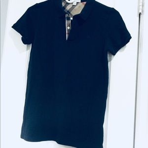 BURBERRY top size S perfect condition navy blue